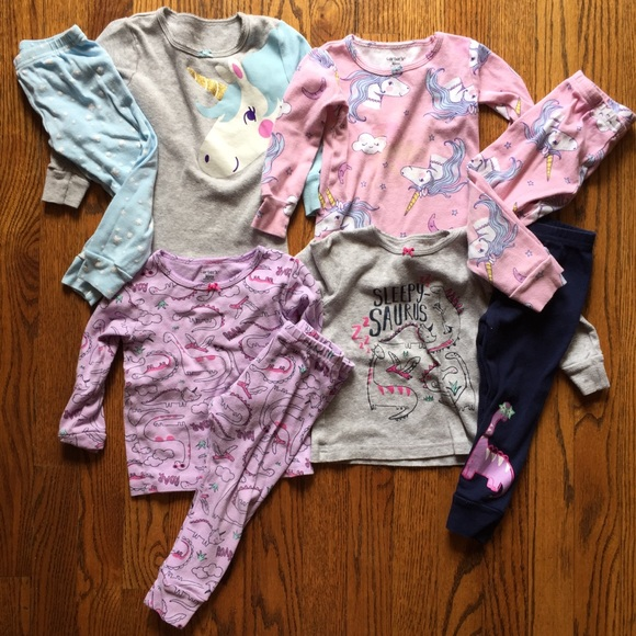 212dd72ff6 Carter s Other - 18 Month Toddler Girl Pajama Lot